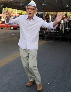 O sambista Carlos Elias recebe homenagem neste sábado (Zuleika de Souza/CB/D.A Press)