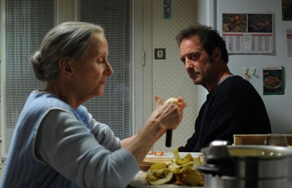 Alain e a mãe, Yvette: papéis renderam indicações ao César para Vincent Lindon e Hélène Vincent (TS Productions/Divulgação)
