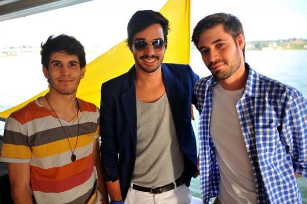 Cássio Rodrigues, Lucas Guimarães e Eric Wolff  (Luis Xavier de França/Esp. CB/D.A Press)