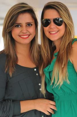 Ester Rodrigues e Camila Rodrigues (Luis Xavier de França/Esp. CB/D.A Press)