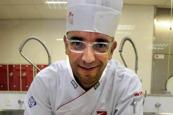 O chef e professor culinário Sebastian Parasole participará do evento (Marcelo Ferreira/CB/D.A Press)