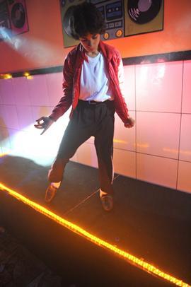 O dançarino Kaian Jackson (Luis Xavier de França/Esp. CB/D.A Press)