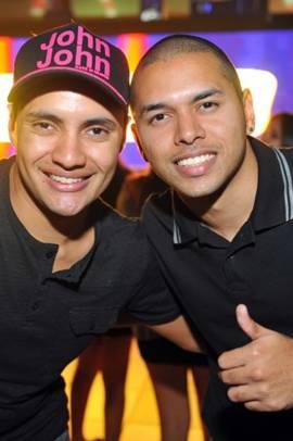 O aniversariante Loran Gomes e o seu irmão Bruno Gomes (Luis Xavier de França/Esp. CB/D.A Press)