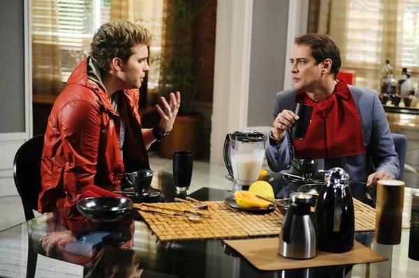Amarilys (Danielle Winits) vai descobrir, por meio de um exame, que o pai de seu filho é Niko (Thiago Fragoso) e não Eron (Marcello Antony) (Estevam Avellar/TV Globo)