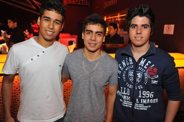 Rafael de Assis, Matheus Miranda e Felipe Rocha (Luis Xavier de França/Esp. CB/D.A Press)