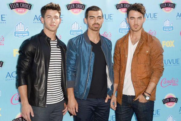 Nick, Joe e Kevin: Jonas Brothers cancelaram shows após discussão no último fim de semana (Jason Merritt/Getty Images/AFP)