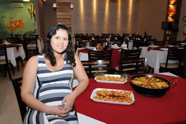 Nize Beatriz Gomes, do Recanto do Camarão: pratos elaborados a preços convidativos (Carlos Moura/CB/D.A Press)