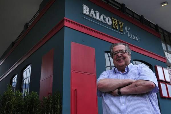 Especializada em música para maiores de 40 anos, a nova casa do empresário da noite José Luiz Paixão Côrtes abriu na 413 Sul em parceria com os mesmos sócios do primeiro BalcoNY  (Ed Alves/CB/D.A Press)