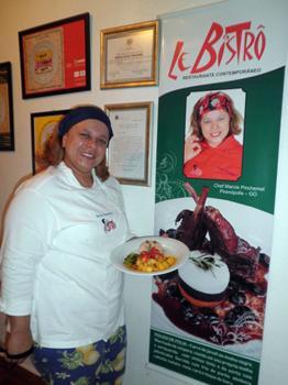 Márcia Pinchemel é chef do Restaurante Le Bistrô (Fernanda Paes/Divulgação)