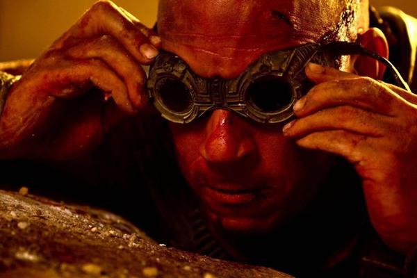 Diesel vive novamente o mercenário Riddick: um dos papéis favoritos do astro (Imagem Filmes/Divulgação)