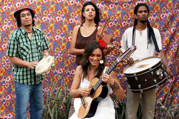 O grupo Roda na Banguela: na estrada desde 2005  (Alen Guimarães/Divulgação)