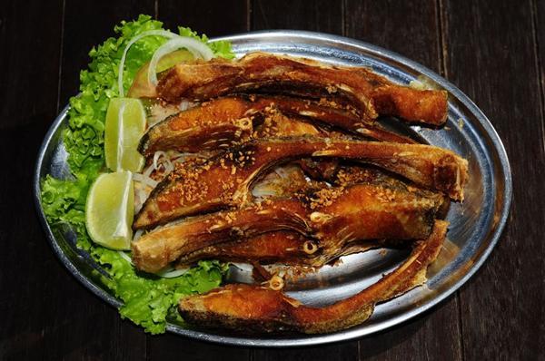 A costelinha de pacu tem boa saída no Tucunaré Cozinha Bar (Edílson Rodrigues/CB/D.A Press)