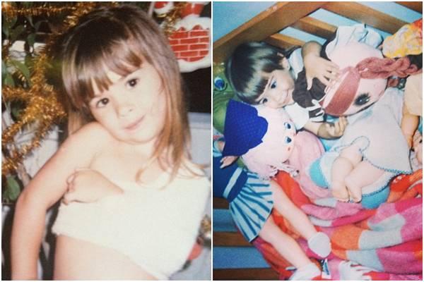 A atriz compartilhou nesta semana algumas imagens de quando era criança (Reprodução/Instagram@tatawerneck)