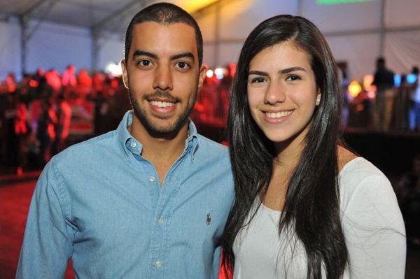 João Gualda e Marcela Nogueira (Luis Xavier de França/Esp. CB/D.A Press)