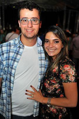 Lucas Amorim e Sarah Fernandes (Luis Xavier de França/Esp. CB/D.A Press)