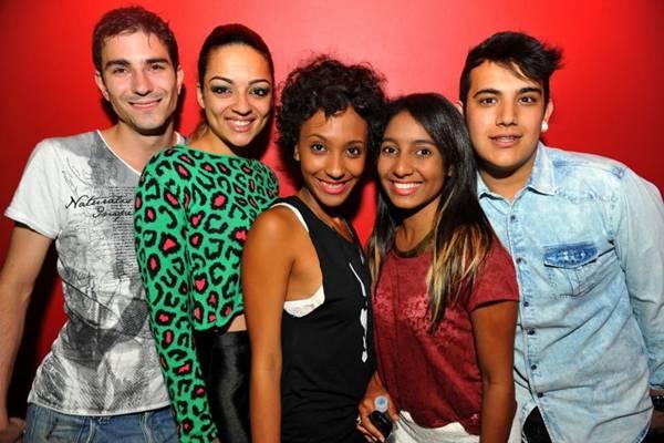 Michael Aires, Patrícia Vitorino, Juliana Cristina, Ana Caroline Cardoso e Johan Bellacave (Luis Xavier de França/Esp. CB/D.A Press)