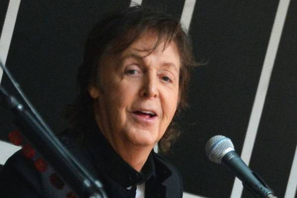 Para McCartney, One Direction são bonitos e, como os Beatles, são adorados pelas meninas (Slaven Vlasic/Getty Images/AFP)