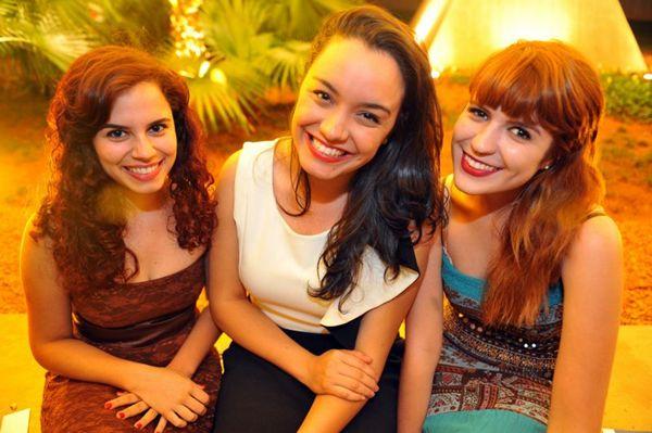 Camila Curado, Beatriz Chaves e Luciana Cardim (Luis Xavier de França/Esp. CB/D.A Press)
