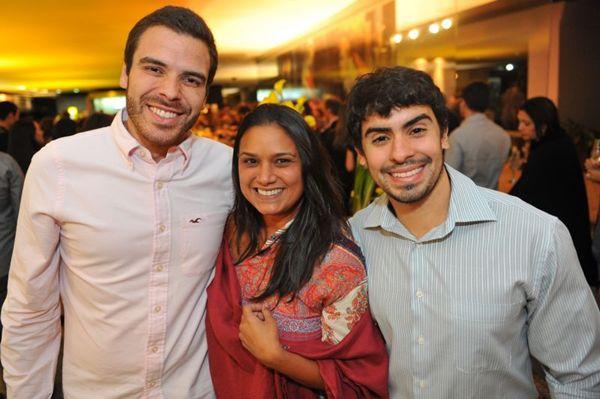 André de Castro, Eryka Leão e David Machado (Luis Xavier de França/Esp. CB/D.A Press)