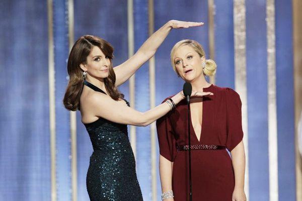As atrizes assumem a nova edição do Globo de Ouro em 12 de janeiro de 2014 (REUTERS/Paul Drinkwater/NBC)