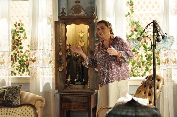 Atriz é conhecida por interpretar papéis cômicos (Estevam Avellar/TV Globo)