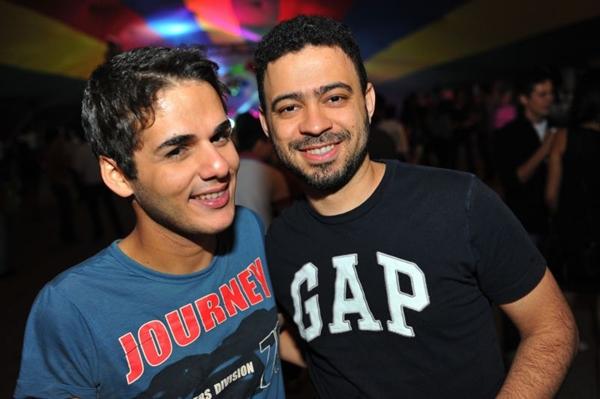 Dênis Pereira e Sílvio Barbosa (Luis Xavier de França/Esp. CB/D.A Press)