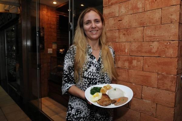 Maria Vilela, proprietária da Casa D'Vilela da 310 Norte (Carlos Moura/CB/D.A Press)