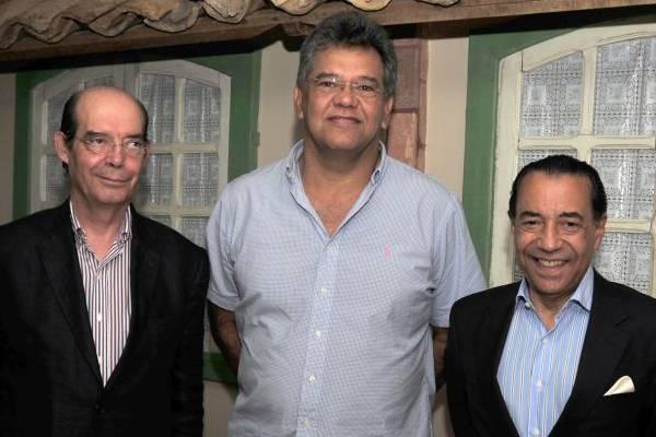 Carlos Caiado Ferreira, Luis Sacadura e Clayton Faria Machado: trio está à frente dos Doces do Império (Ed Alves/CB/D.A Press)