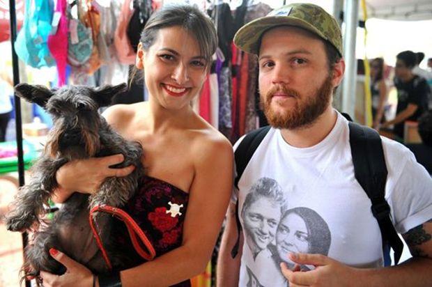 Margot, Cíntia Cinelli e Victor Yrigoyen (Luis Xavier de França/Esp. CB/D.A Press)