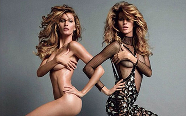 Gisele Bündchen em dose dupla no Instagram: modelo dá prévia de ensaio para Vogue Paris (@giseleoficial/Instagram/Reprodução)