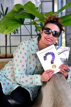 Carla Andrade lança Artesanato de perguntas no Sebinho Cultural (Marcelo Ferreira/CB/D.A Press)