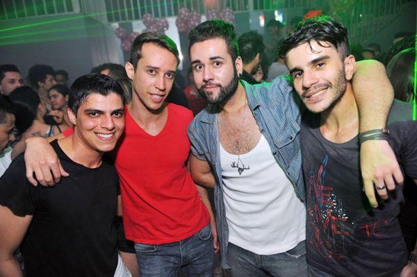 Caimã Bueno, Pedro Magalhães, Bruno Antun e Danilo Antun (Luis Xavier de França/Esp. CB/D.A Press)