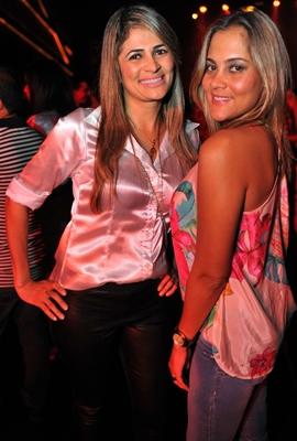 Angélica Silva e Helen Mercês  (Luis Xavier de França/Esp. CB/D.A Press)