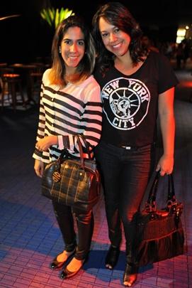 Ana Carolina Hamu e Camila Santana (Luis Xavier de França/Esp. CB/D.A Press)