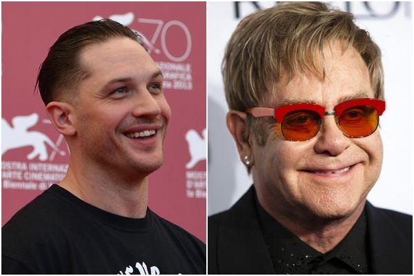Tom Hardy será Elton John em musical que conta a história do músico (REUTERS/Eduardo Munoz)