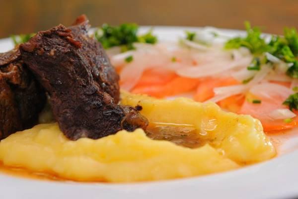 Carne mechada: um prato típico da região central do Chile (Janine Moraes/CB/D.A Press)