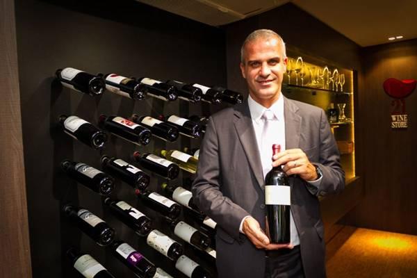 Nuno Pereira, da 21 Wine Store, diz que os vinhos latino-americanos ganharam Portugal  (Gilberto Evangelista/Divulgação)