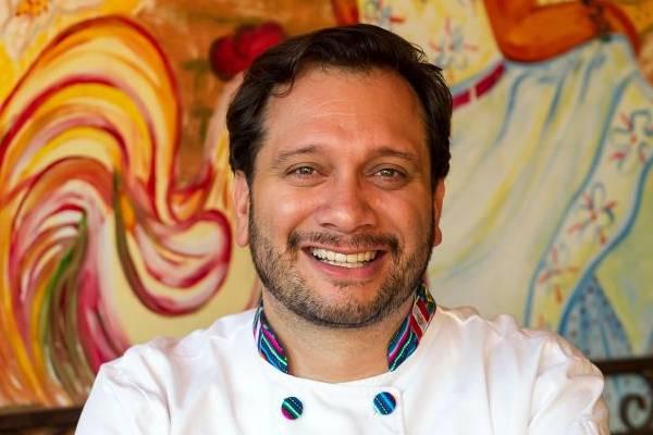 Chef David Lechtig, do restaurante El Paso (Telmo Ximenes/Divulgação)