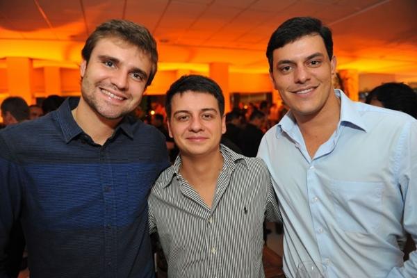 Tarso Frota, Andrei Prates e Leonardo Borges  (Luis Xavier de França/Esp. CB/D.A Press)