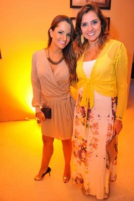 Laila Machado e Camila Sallaberry (Luis Xavier de França/Esp. CB/D.A Press)