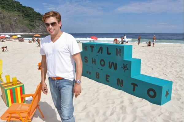 Coisas de Casal será o primeiro trabalho de Bruno como ator (Paulo Otero/ TV Globo)