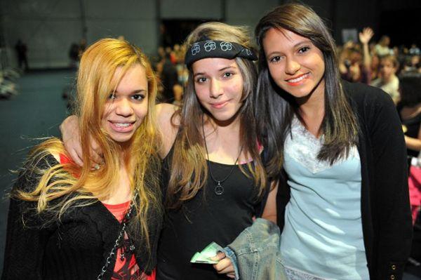Jessica Ferreira, Thaysla July e Beatriz Leite (Luis Xavier de França/Esp. CB/D.A Press)