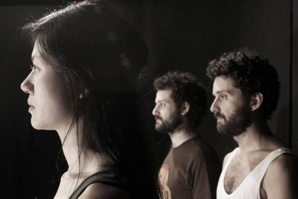 Patrícia Kamis, Rodrigo Bolzan e Gabriel Schwartz integram o elenco (Companhia Brasileira de Teatro/Divulgação)