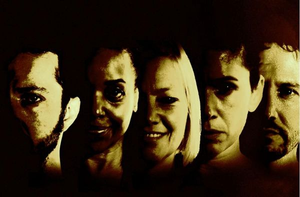 O elenco de Sonhadores: texto da autora portuguesa foi adaptado pelo diretor Bruno Estrela (Os Sonhadores/Divulgação)