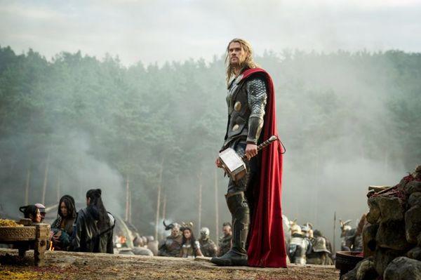 Thor (Chris Hemsworth): ainda arrogante e provocativo nos combates (Walt Disney/Divulgação)