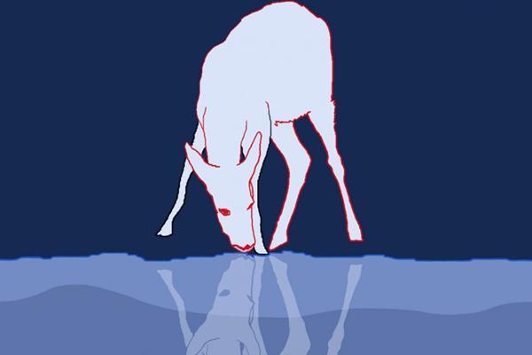 Imagem da série O espelho, de Favish Tubenchlak (Favish Tubenchlak/Reprodução)