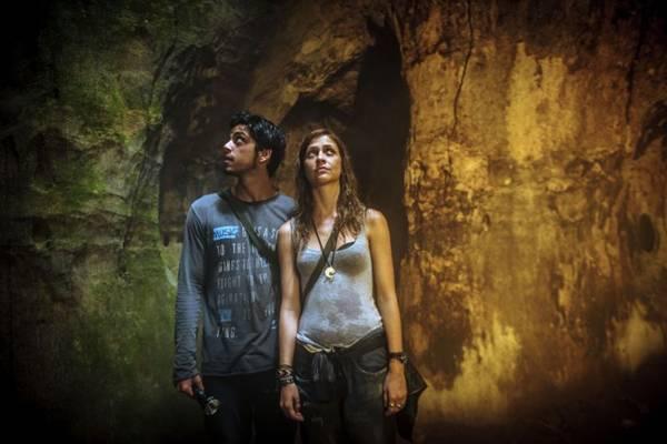 Rodrigo Simas e Christiana Ubach: inspiração na série Lost (Alex Carvalho/Globo)