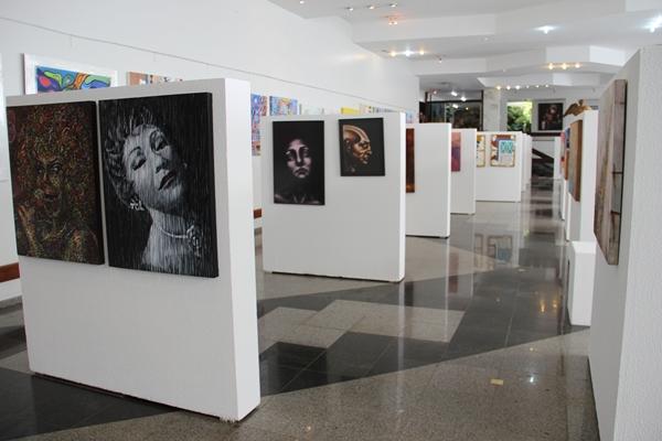 A mostra abre oportunidade para divulgação do trabalho de novos artistas  (Divulgação)