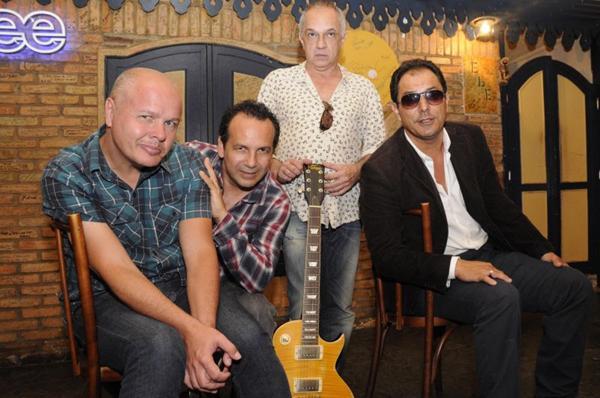 A banda traz os quatro integrantes original para o show (Ronaldo de Oliveira/CB/D.A Press)