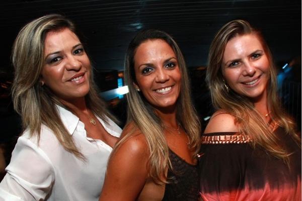 Fabiana Lima, Bianka Gomes e Kelly Cristine (Lula Lopes/Esp. CB/D.A Press)